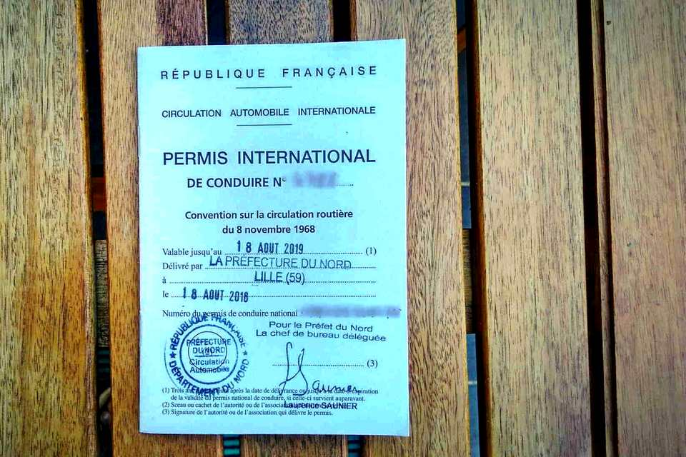 Permis international obligatoire en Thaïlande