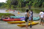 Kayaking on the Kwai Yai river